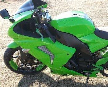 Kawasaki green High gloss