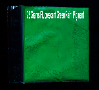 Green Fluorescent Pigment powder